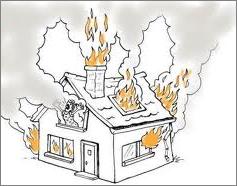 incendie domestique